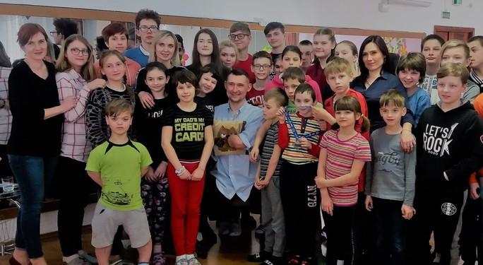 Детский Дом № 7 посетил Алексей Талай и рассказал, как бороться за себя и своё будущее