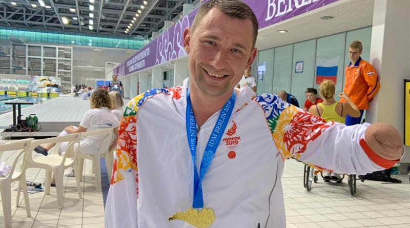 Паралимпиец Алексей Талай установил два мировых рекорда в Берлине