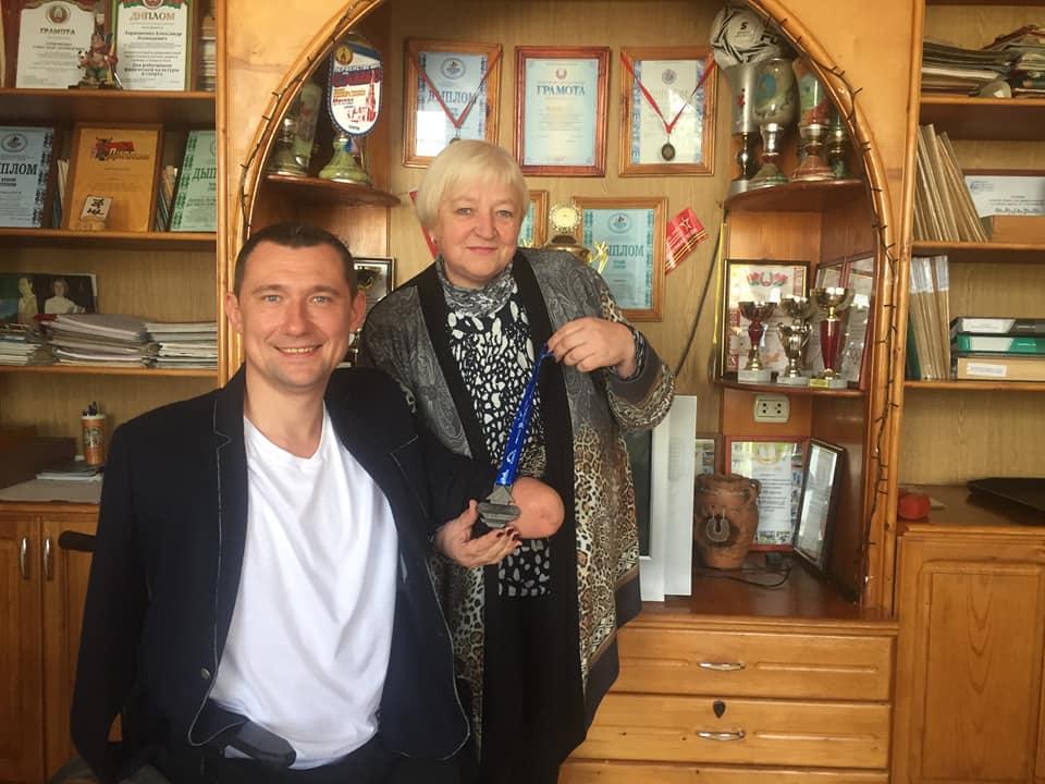 Встреча Алексея Талая и студентов Орши