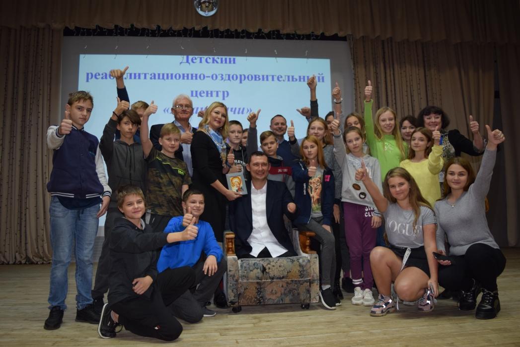 Алексей Талай выступил в  детском реабилитационно-оздоровительном центре «Ждановичи»