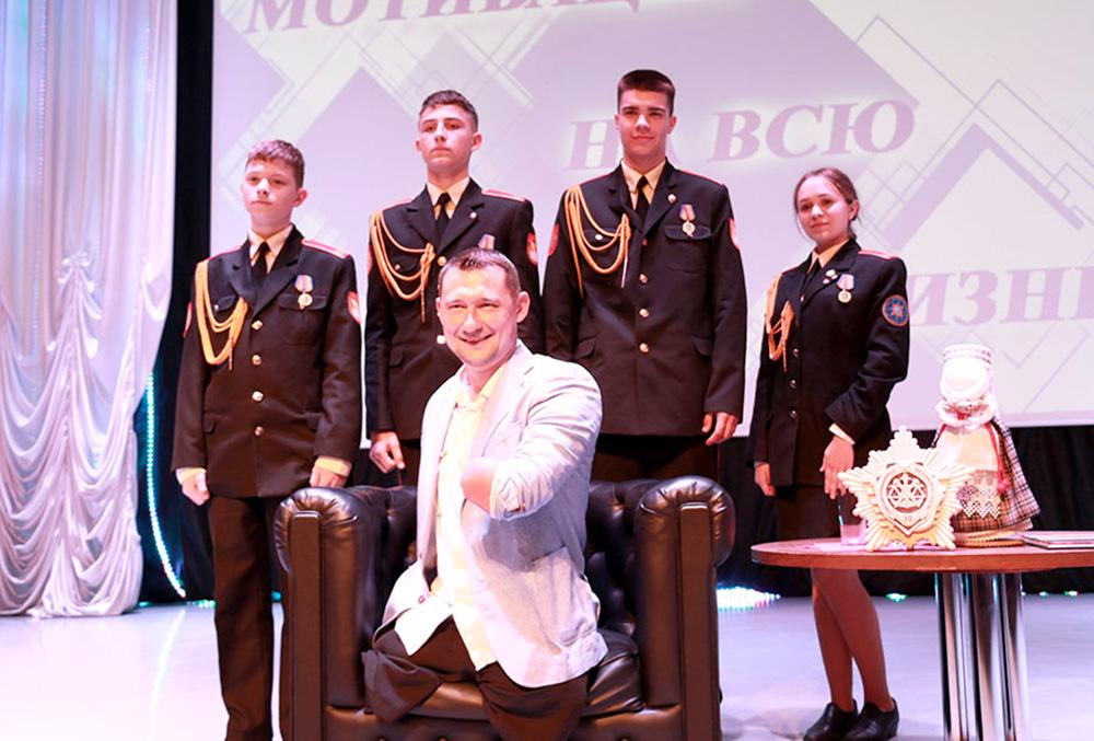 В Слуцке прошла встреча с Алексеем Талаем